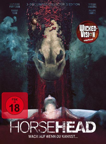 Horsehead - Wach auf, wenn du kannst... - Limited 3-Disc Mediabook Edition (DVD & Blu-ray)