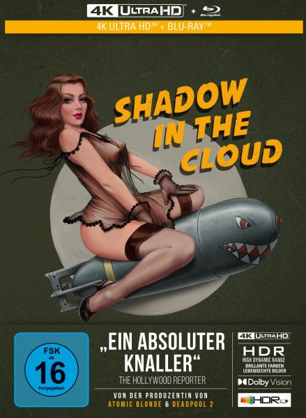 Shadow in the Cloud - 2-Disc Limited Collector's Edition im Mediabook (4K Ultra HD/UHD + Blu-Ray)
