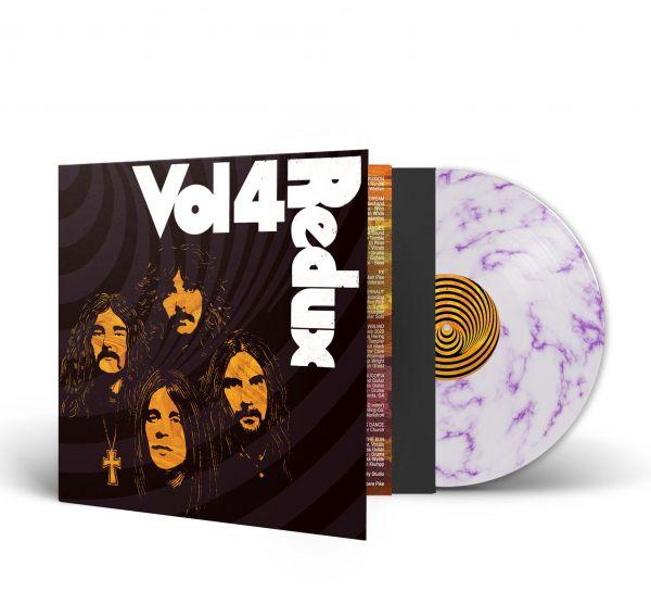 Various (Black Sabbath) - Vol. 4 (Redux) (LP weiß/purpur marble)