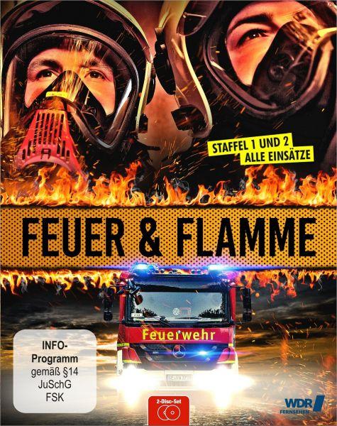 Feuer und Flamme - Mit Feuerwehrmännern im Einsatz - Staffel 1+2