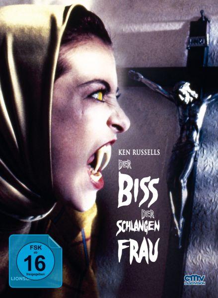 Der Biss der Schlangenfrau (Limitiertes Mediabook Cover B) (Blu-ray + DVD)
