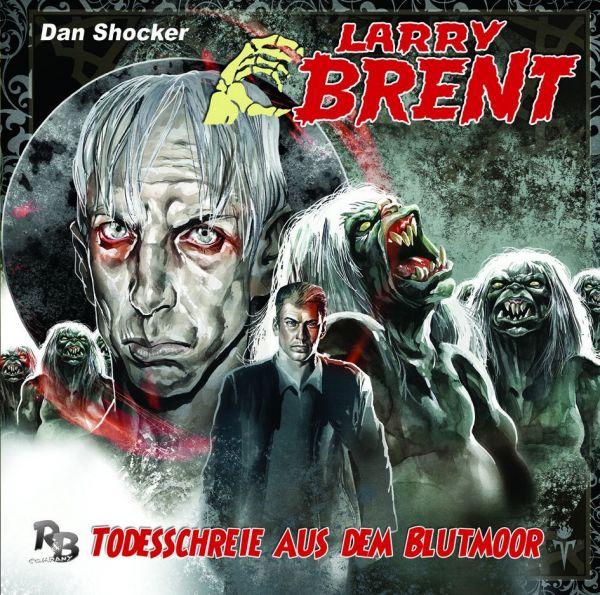 Larry Brent - Todesschreie aus dem Blutmoor (08) (Original Dan Shocker Hörspiele)
