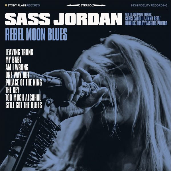 Jordan, Sass - Rebel Moon Blues