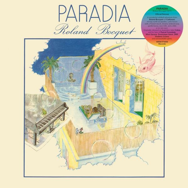 Bocquet, Roland - Paradia (LP)