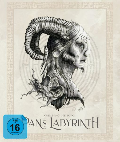 Pans Labyrinth - 6-Disc Ultimate Edition (4 BDs + DVD + Soundtrack-CD) [Limited Edition]