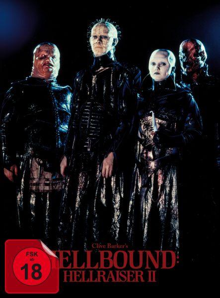 Hellbound - Hellraiser II (BD+DVD-Mediabook - Cover A, Kinomotiv) (Uncut)