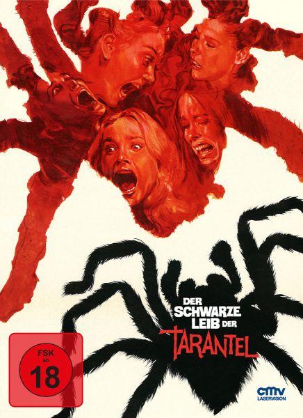 Der schwarze Leib der Tarantel - limitiertes Mediabook (DVD + Blu-ray)