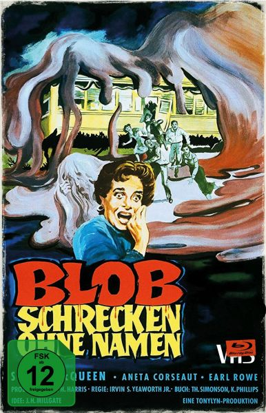 Blob - Schrecken ohne Namen - Limited Collector's Edition im VHS-Design
