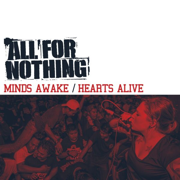 All For Nothing - Minds Awake / Hearts Alive (white LP)