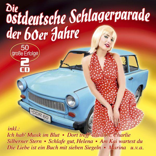 Various - Die ostdeutsche Schlagerparade der 60er Jahre