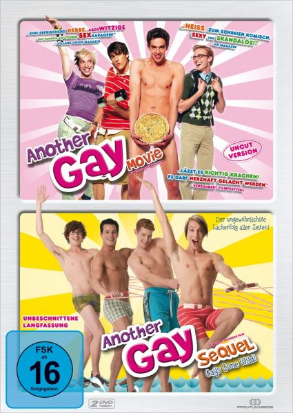 Another Gay Movie Pack - 2 DVD