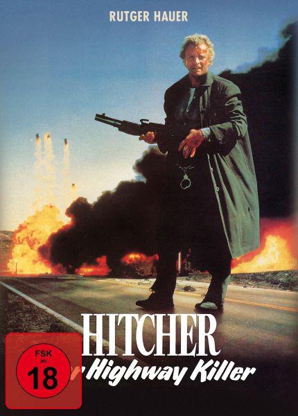 Hitcher, der Highway Killer - Special Edition Mediabook (uncut) (Blu-ray + DVD)