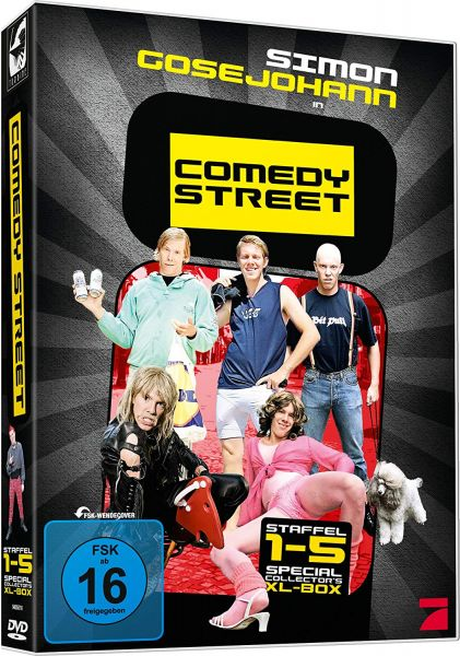 Comedy Street - Special Collector's XL Box