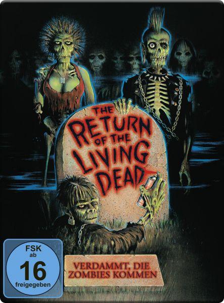 Return of the living Dead - Verdammt, die Zombies kommen (SteelBook)