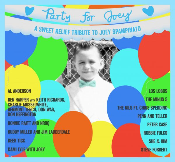 Various - A Sweet Relief Tribute To Joey Spampinato