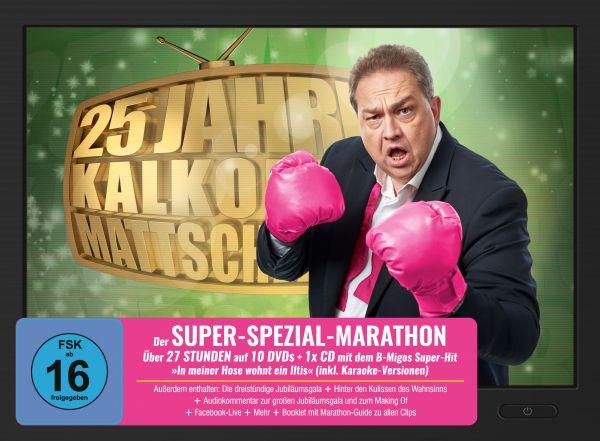25 Jahre Kalkofes Mattscheibe - Der Super-Spezial-Marathon (10 DVDs + 1CD)