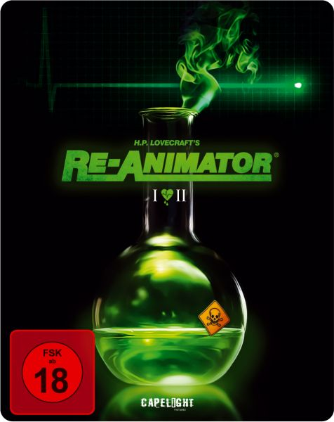 Re-Animator / Bride Of Re-Animator (2-Disc Steelbook Edition) (OUT OF PRINT)