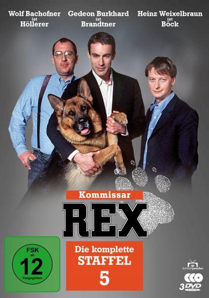Kommissar Rex - Die komplette 5. Staffel