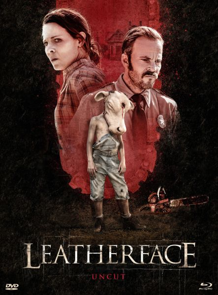 Leatherface (Uncut) [BD+DVD-Mediabook - Cover A] (VIP-Edition)