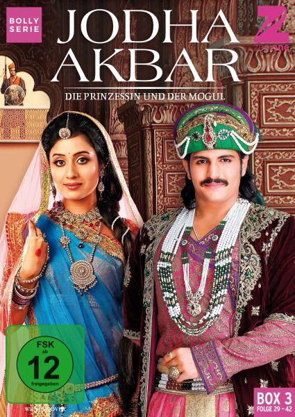 Jodha Akbar - Die Prinzessin und der Mogul (Box 3) (Folge 29-42)