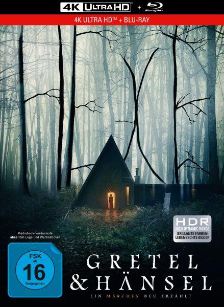Gretel & Hänsel - 2-Disc Limited Collector's Edition im Mediabook (4K Ultra HD + Blu-ray)