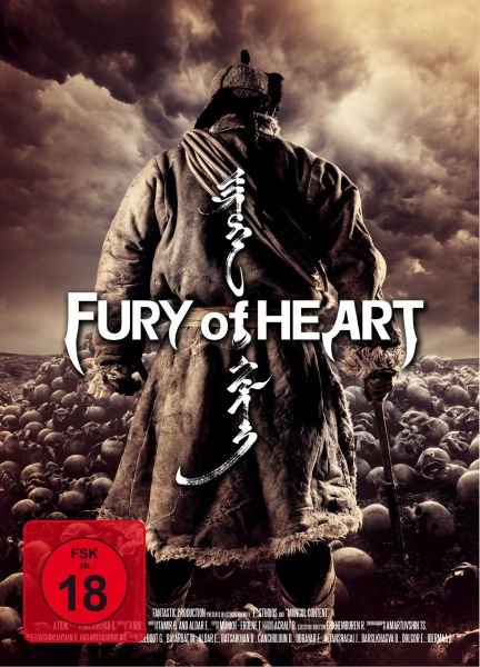 Fury of Heart (uncut) - 2-Disc Limited Mediabook (DVD + Blu-ray)