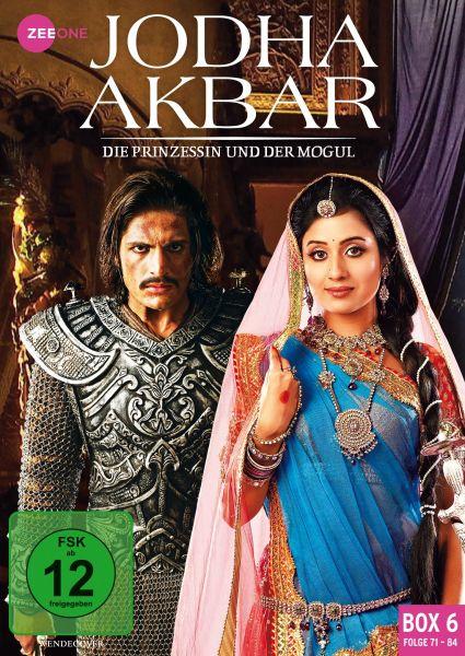 Jodha Akbar - Die Prinzessin und der Mogul (Box 6) (Folge 71-84)