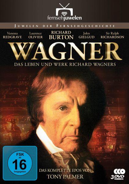 Wagner - Das Leben und Werk Richard Wagners (Die komplette Miniserie)