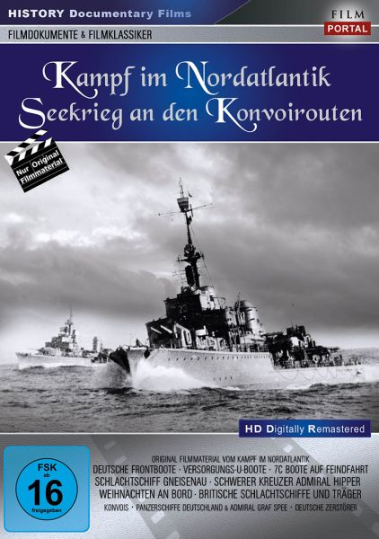 Kampf im Nordatlantik - Seekrieg an den Konvoirouten