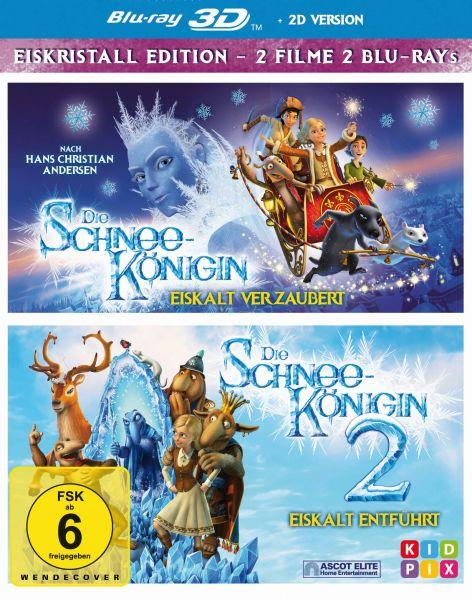 Die Schneekönigin 1+2 Box - 3D
