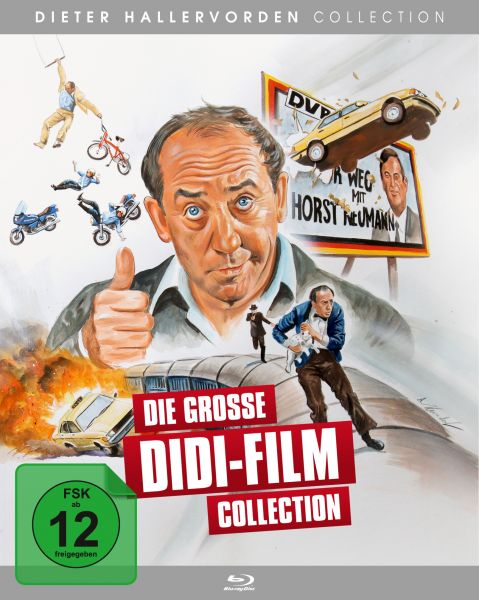Die große Didi-Film Collection (7 Blu-Rays)