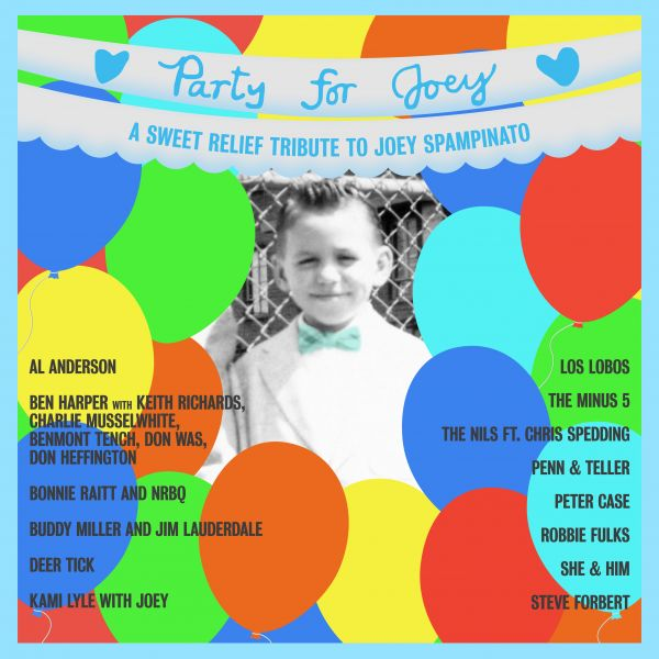 Various - A Sweet Relief Tribute To Joey Spampinato (LP hellblau)