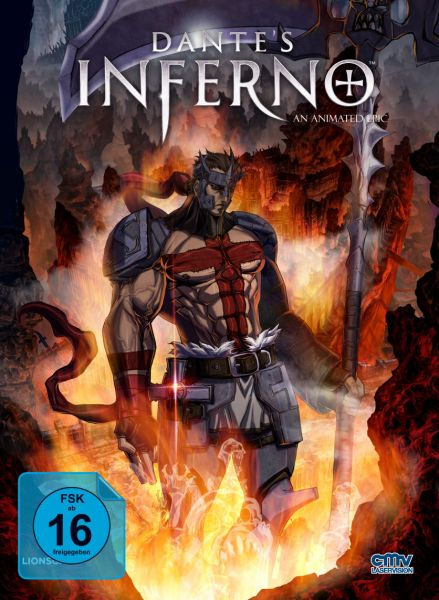 Dante's Inferno (Limitiertes Mediabook Cover D) (Blu-ray + DVD)