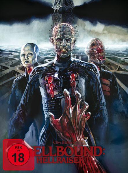 Hellbound - Hellraiser II (BD+DVD-Mediabook - Cover B, Timo Würz) (Uncut)