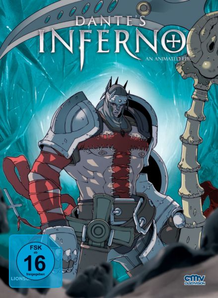 Dante's Inferno (Limitiertes Mediabook Cover F) (Blu-ray + DVD)