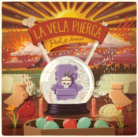 La Vela Puerca - Piel y hueso (+ Bonus CD)