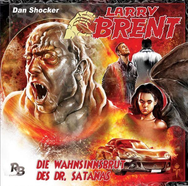 Larry Brent - Die Wahnsinnsbrut des Dr. Satanas (03) (Original Dan Shocker Hörspiele)