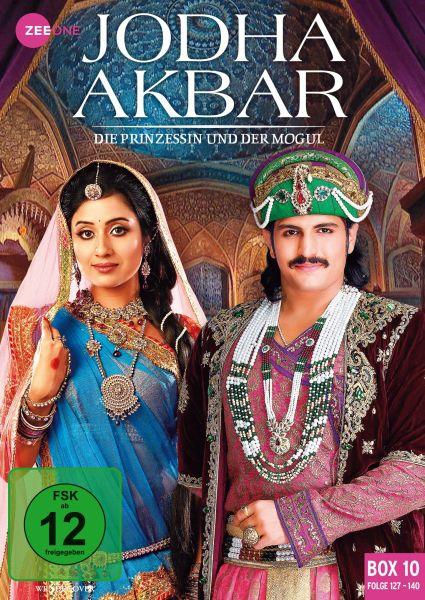 Jodha Akbar - Die Prinzessin und der Mogul (Box 10) (Folge 127-140)
