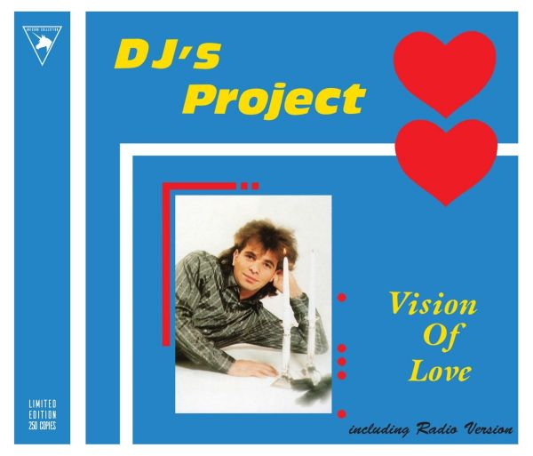 DJ's Project - Vision Of Love (Collectors Limited Edition Maxi CD)