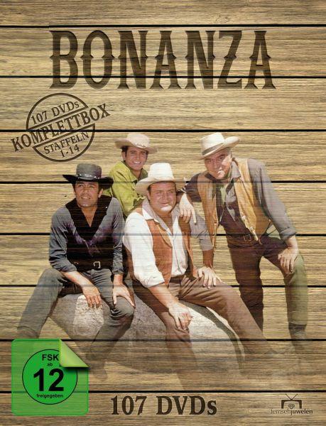 Bonanza - Komplettbox (Staffel 1-14) (107 DVD)