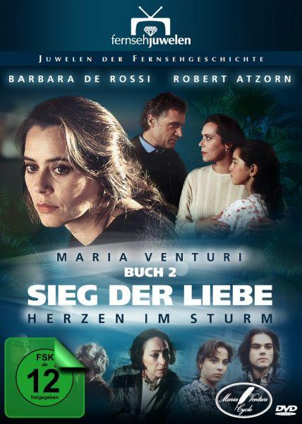 Maria Venturi Buch 2: Sieg der Liebe - Herzen im Sturm - Fernsehjuwelen