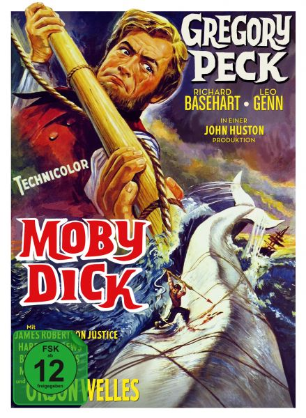 Moby Dick - 3-Disc Limited Collector's Edition im Mediabook (Blu-ray + Bonus-Blu-Ray + DVD)