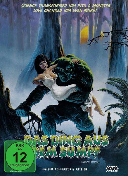 Das Ding aus dem Sumpf (Mediabook Cover A) (2 Discs)
