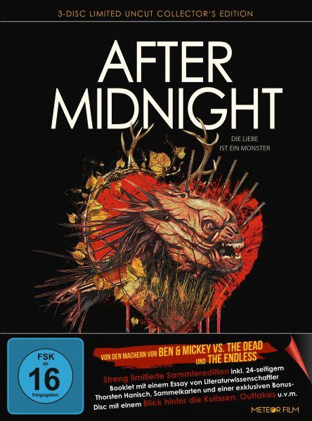 After Midnight - Die Liebe ist ein Monster - Limited Mediabook (Blu-ray + DVD)